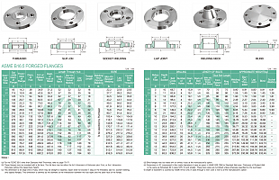 CLASS 600 FLANGES